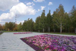 Парк летом