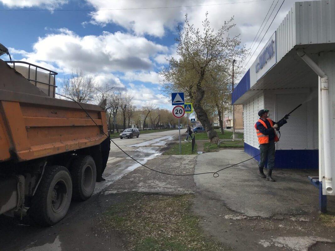 Санитарная обработка города