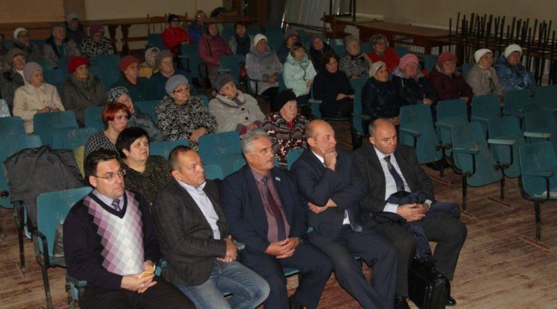 Собрание граждан в селе Знаменское