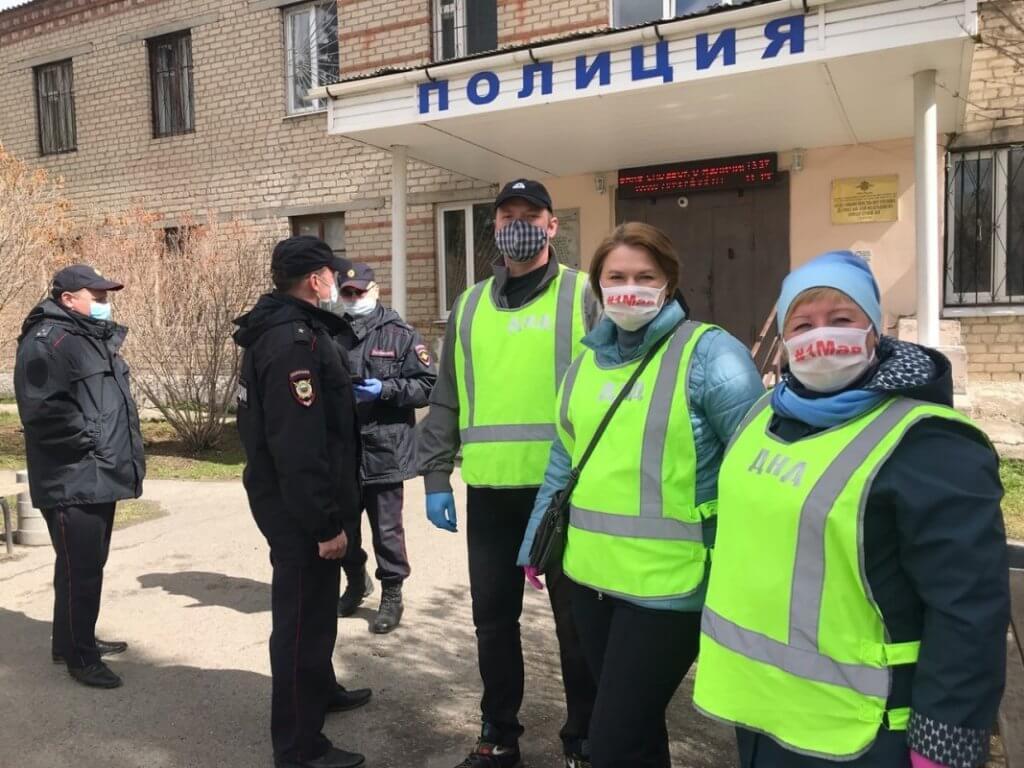 Заводчане вышли в патруль