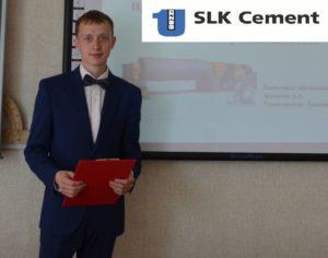 Алексей Коковин на защите проекта