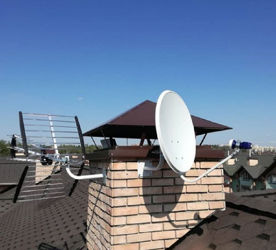 антенна на вентиляционной трубе