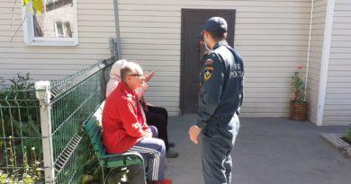 Беседа инспектора с Таушканцами
