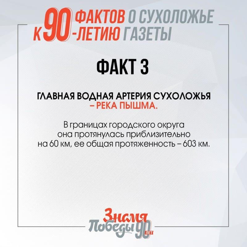 90 фактов о Сухоложье факт 3