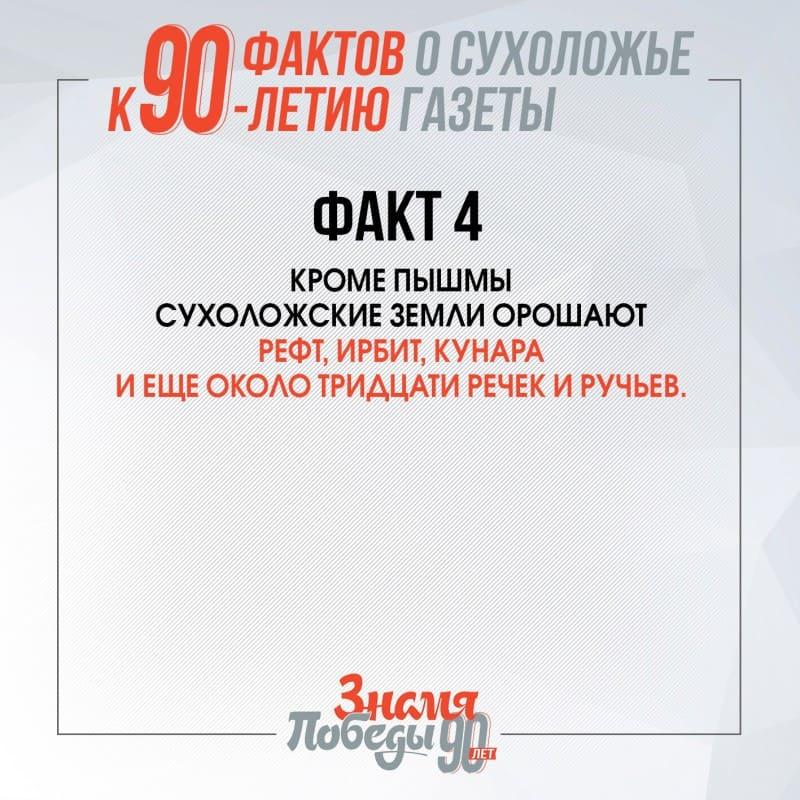 90 фактов о Сухоложье факт 4