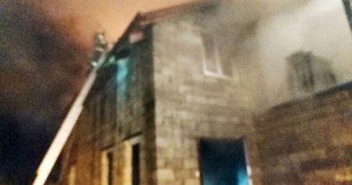 На ул. Пролетарской пожар