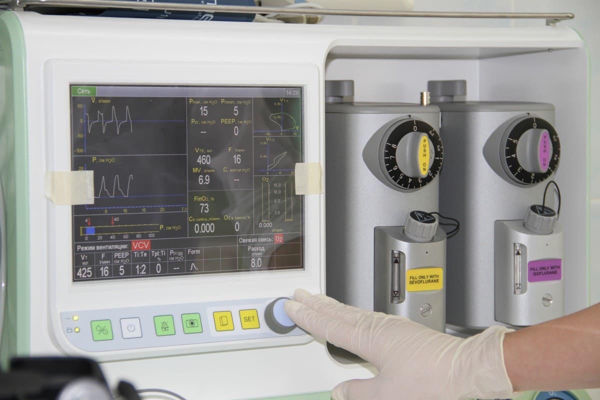 новый наркозно-дыхательный аппарат