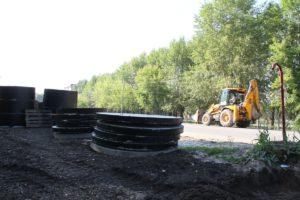 Идет ремонт теплотрассы в Сухом Логу