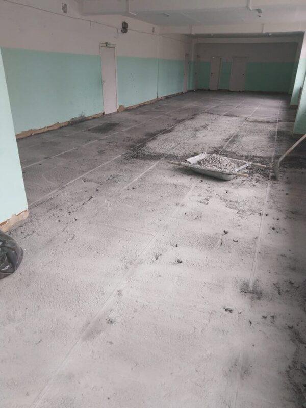 ремонтные работы в алтынайской школе