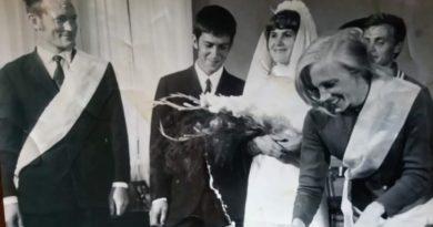 Свадьба Юрканцевых, 1972 г.