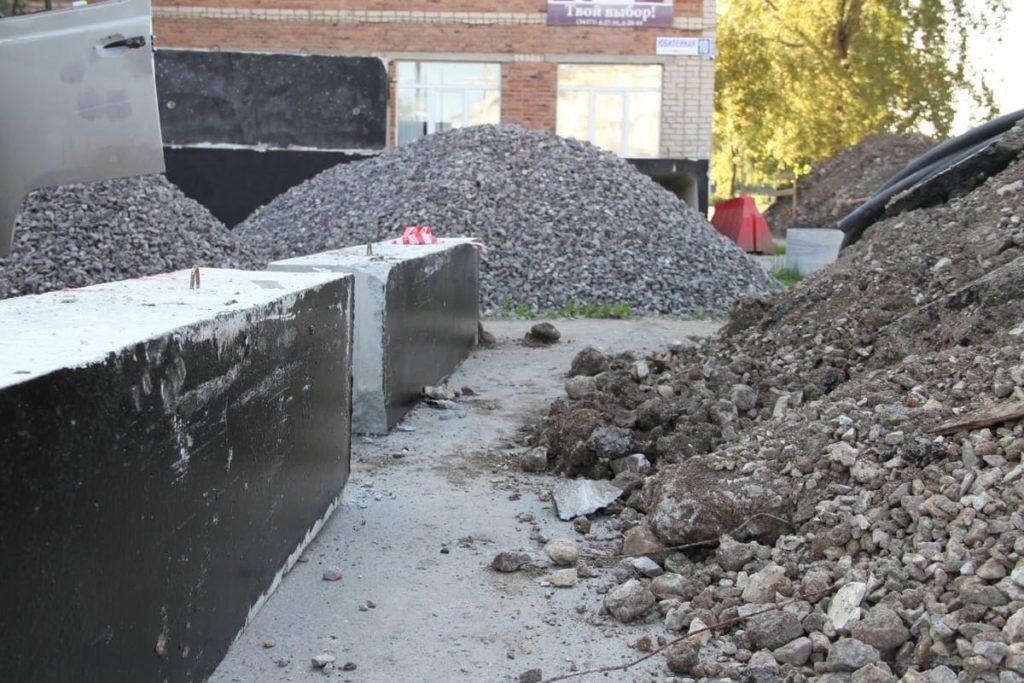 теплотрассу в Сухом Логу ремонтируют