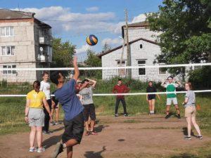 волейбол в Курьях