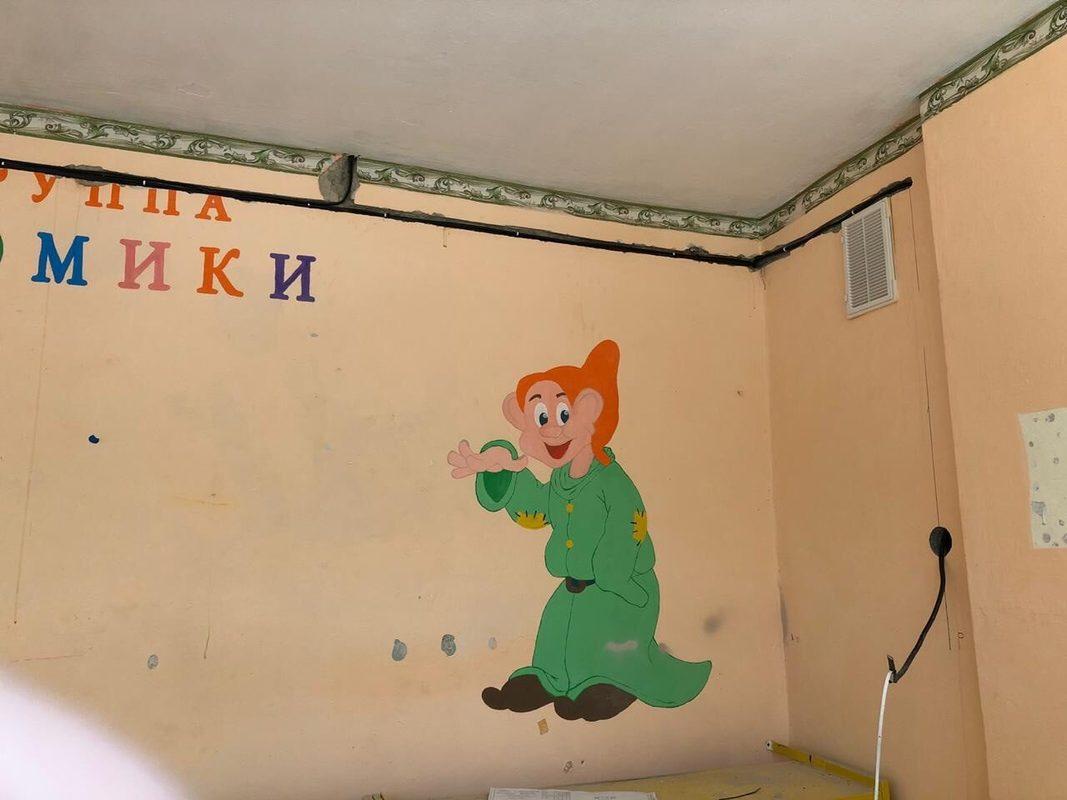 замена проводки в детском садике 29