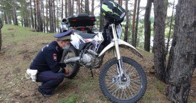 И снова пострадавший мотоциклист