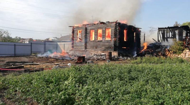 пожар на ул Шулина