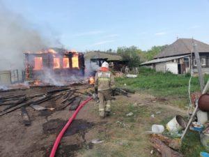 пожар в Сухо Логу