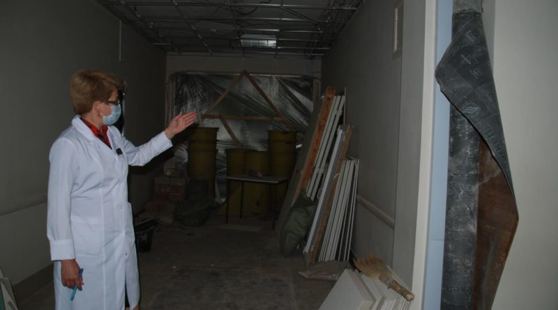 ремонт поликлиники в Сухом Логу