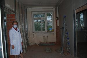 Ремонт Сухоложской поликлиники