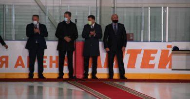 Сухой Лог открытие Ледовой арены