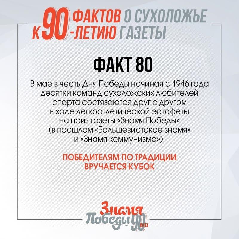 90 фактов о Сухоложье: Факт 80