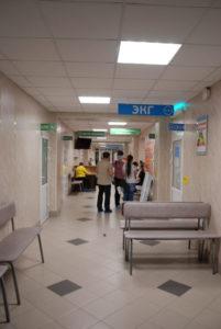 Поликлиника Сухоложской РБ ремонт