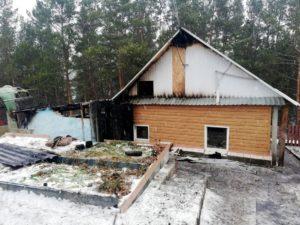 Пожар в Риковском
