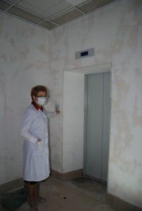 Ремонт в поликилинике Сухоложской РБ
