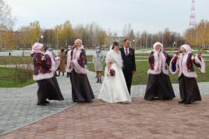 традиция для брачующихся