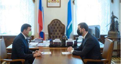 Встреча Куйвашева и Баринова