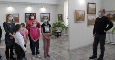 Выставка в ДШИ