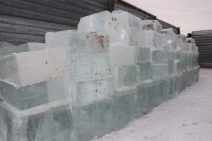 на ледовый городок лед в сухом логу