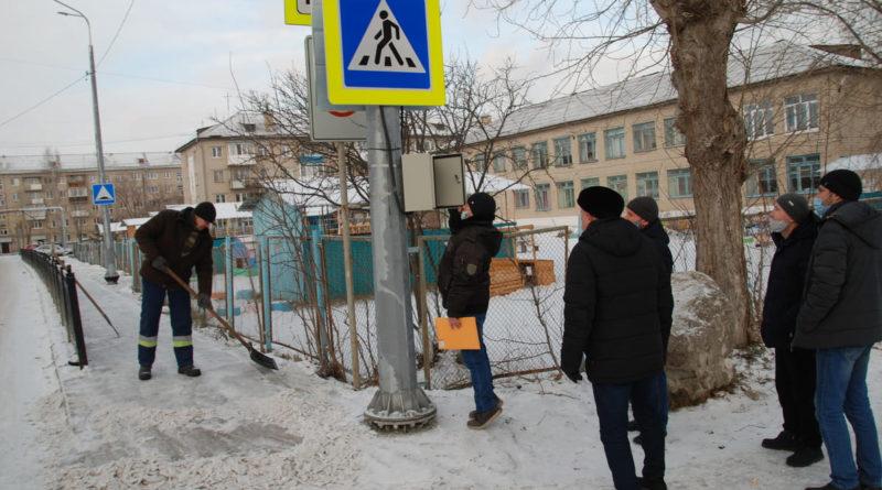 пешеходные переходы в Сухом Логу