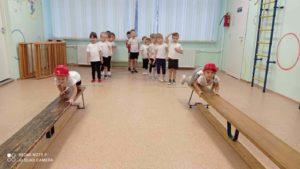 Спортивное развлечение Юные пожарные