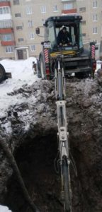 Авария на водопроводе