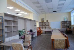 библиотека готовится к открытию Сухой Лог