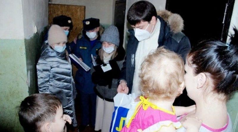 посещение социально незащищенных граждан