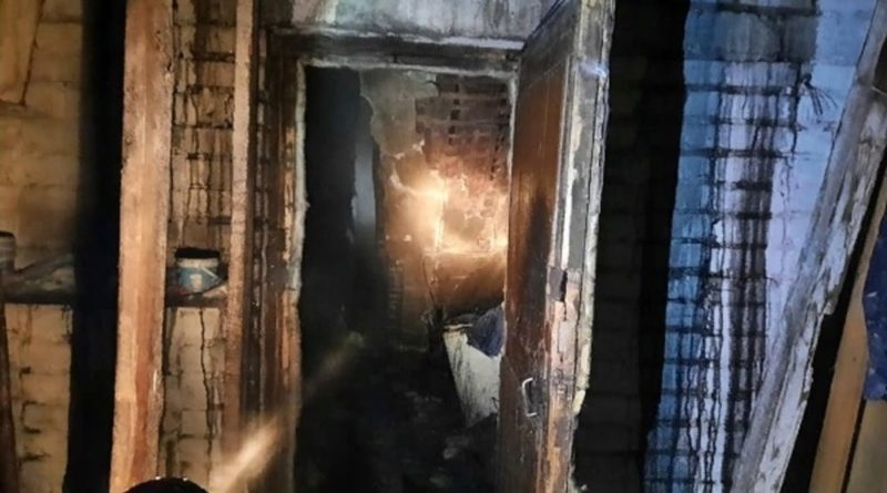 пожар в Заимке
