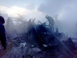 село Курьи пожар