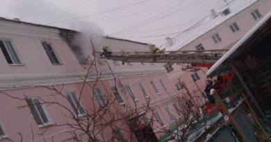 Сухой Лог пожар на ул Фучика