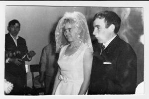...и в день свадьбы (январь 1971 г.)