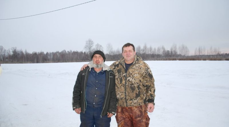 Георгий Двухименный с помощником Саидом