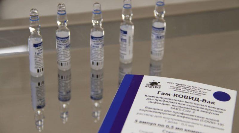 В Сухой Лог поступила первая партия вакцины спутник V