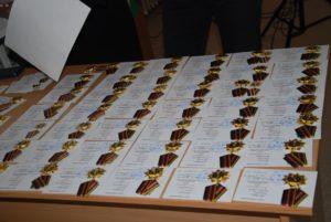 Памятные медали для Чернобыльцев