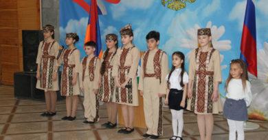 Выступление воспитанников школы «Ван»