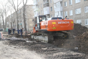 Замена коллектора на ул. Милицейской