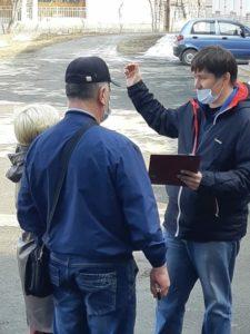 Волонтер «Комфортной среды» Антон Савин
