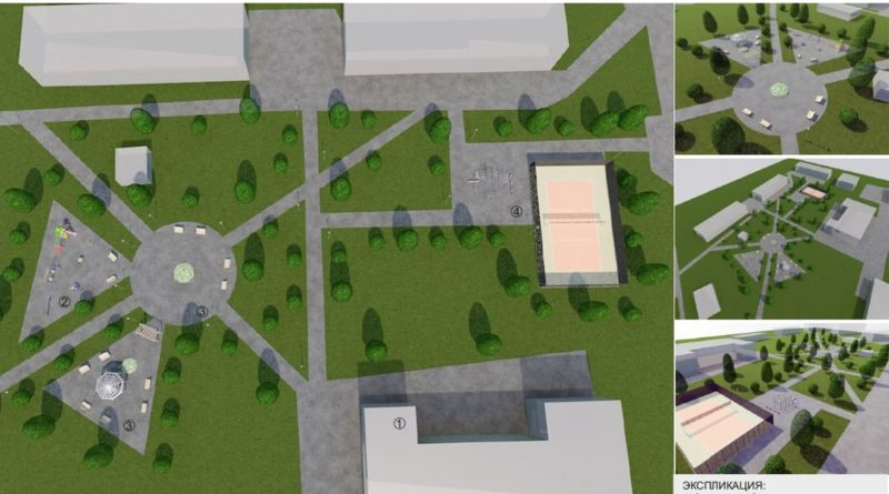 Проект Курьинского парка