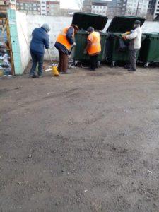 Уборка дворов
