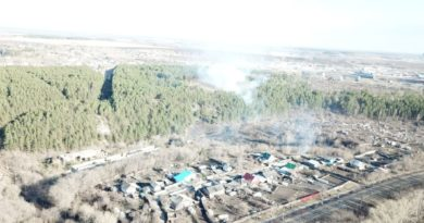 Пожар в районе Фабрики
