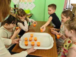 Дегустация морковного сока